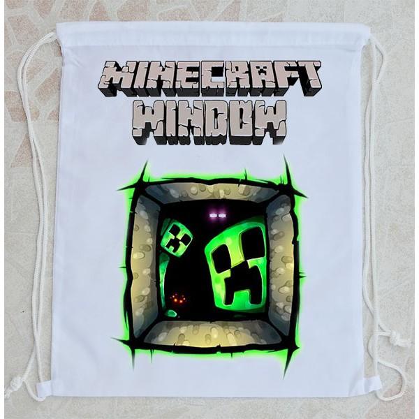 Bolsa Mochila Minecraft Ventana