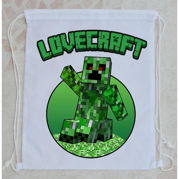Bolsa Mochila Minecraft Lovecraft