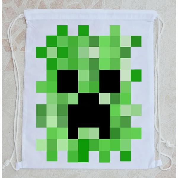 Bolsa Mochila Minecraft Creeper