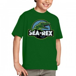 Camiseta Jurassic World Niño Sea Rex