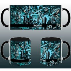 Taza Jurassic World Raptors