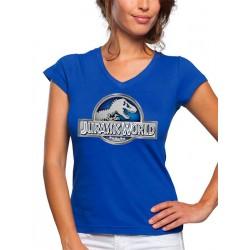 Camiseta Mujer Jurassic World Logo