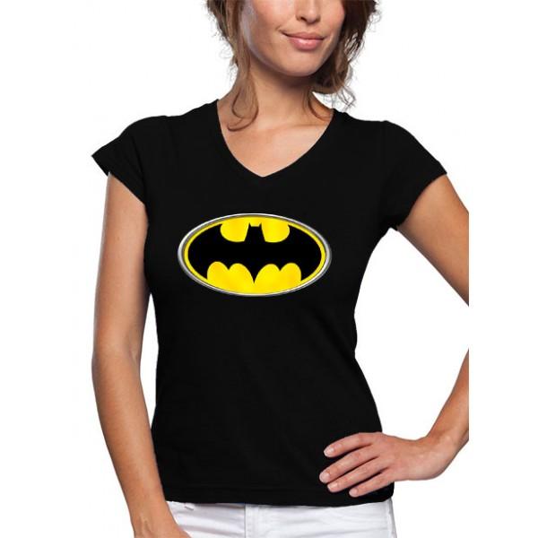 Camiseta Batman Mujer