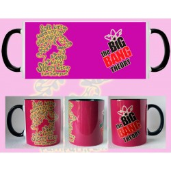 Taza Big Bang Theory - Dulce Gatito