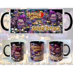Taza Clash of Clans Golem
