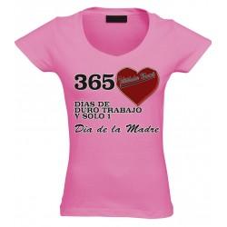 Camiseta día de la madre 365 días