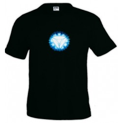 Camiseta Iron Man - new Arc Reactor