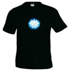 Camiseta Iron Man - new Arc Reactor
