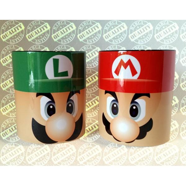 Pack Tazas Mario y Luigi