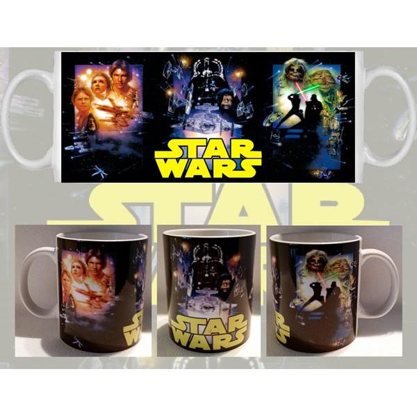 Taza Star Wars Trilogía