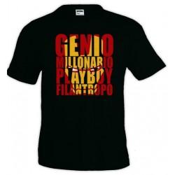 Camiseta Ironman - Genio Millonario Playboy Filantropo