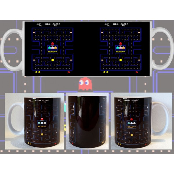 Taza Pac-Man