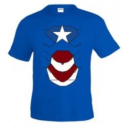 Camiseta Ironman Armadura Patriot