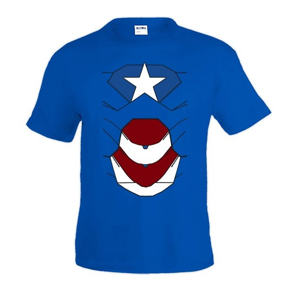 Camiseta Ironman Armadura Patriot