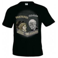 Camiseta Doctor Who - Angel lloroso vs Silencio