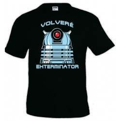 Camiseta Doctor Who - Dalek Exterminator