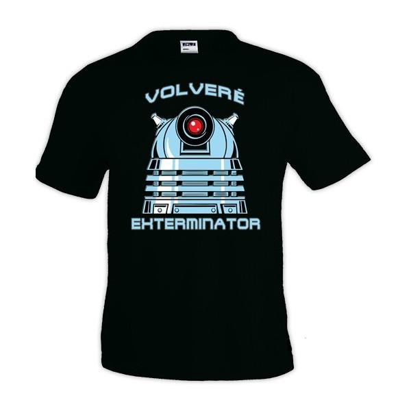 Camiseta Doctor Who Dalek Exterminator