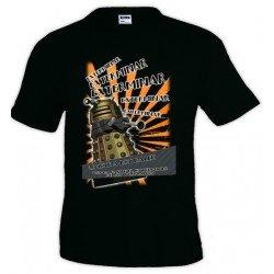 Camiseta Doctor Who Exterminar Exterminar