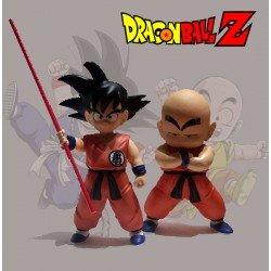 Figuras Goku y Krilin