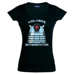 Camiseta Doctor Who - Dalek Exterminator - de chica