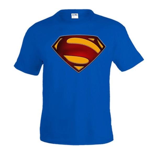 Camiseta Superman logo 2013 custom-1 de hombre