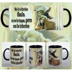 Taza Star Wars Yoda Mensaje