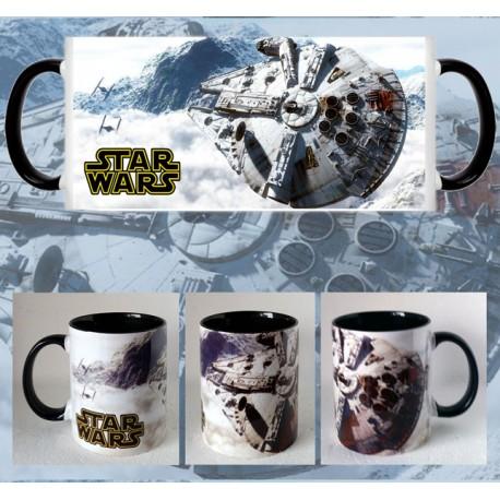 Taza Star Wars Halcón Milenario