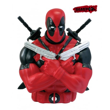 Figura Hucha Deadpool Marvel