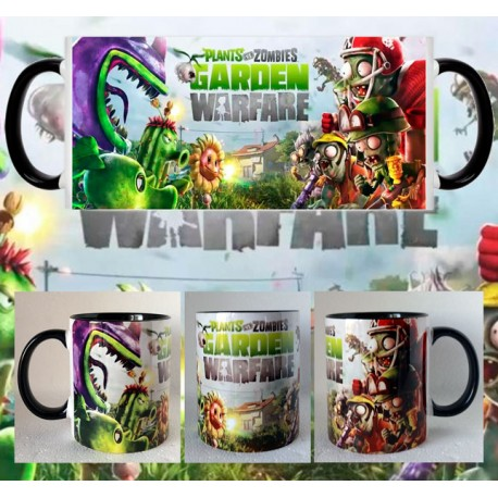 Taza Plantas VS Zombies