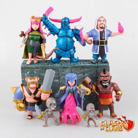 Figuras Clash of Clans