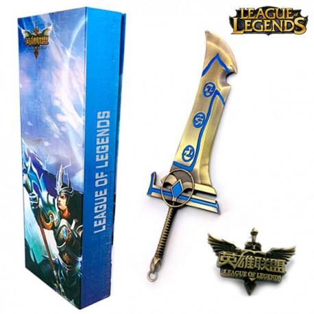 Réplica arma League of Legends