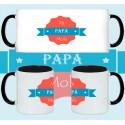 Taza Dia del Padre Mi Papá Mola