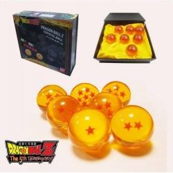 Dragón Ball Caja de 7 Bolas de 4 cm