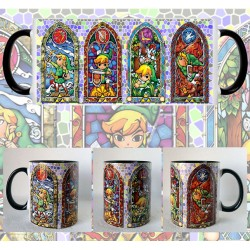 Taza Legend of Zelda Vidrieras