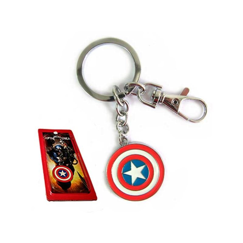 Llavero Capitán América Escudo - LLaveros superheroes. Regalosde