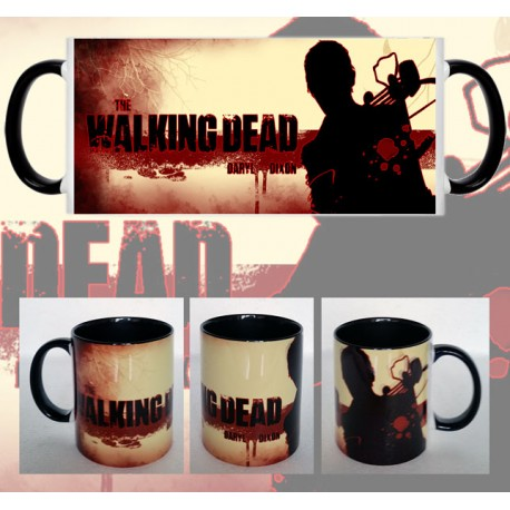 Taza Walking Dead Silueta Daryl