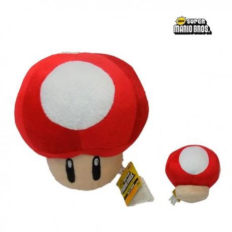 Peluche Mario Bros Seta Roja