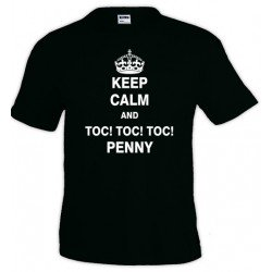 Camiseta Keep Calm and toc toc toc Penny
