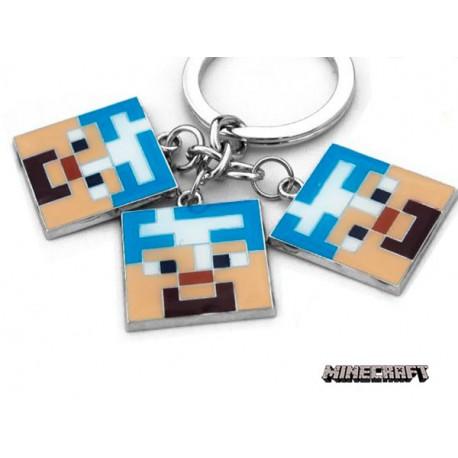 LLavero Minecraft Steve