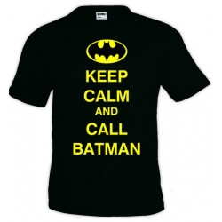 Camiseta Keep Calm and Call Batman
