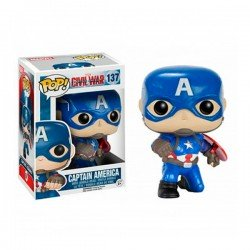 Figura Funko Pop Capitán América Civil War - Exclusiva