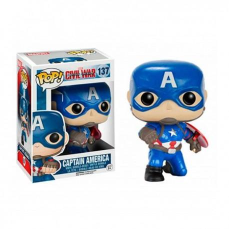 Funko Pop Capitán América Civil War Edición Limitada