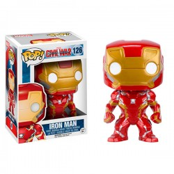 Funko Pop Capitán América Civil War Iron Man