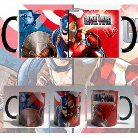 Taza Capitán América Civil War