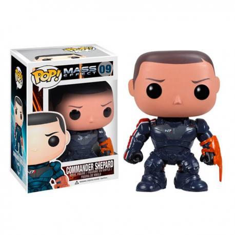 Figura Funko Pop Mass Effect Commander Shepard