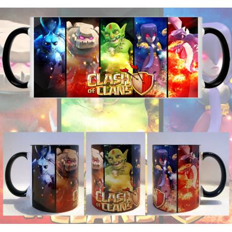 Taza Clash of Clans Personajes