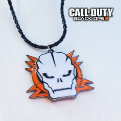 Colgante Call Of Duty Black Ops III Calavera