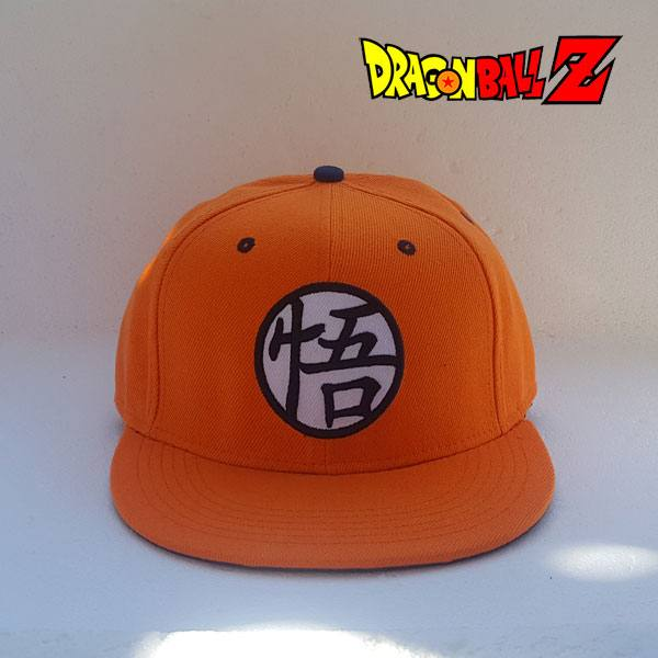 f19e831c70049 Gorra Dragón Ball Z - Logo Kanji Go - Gorras y Regalos Originales DBz