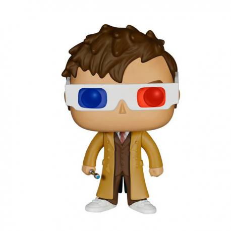 Figura Funko Pop Doctor Who 10 Th Doctor Gafas 3D - Exclusiva