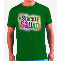 Camiseta Escuadrón Suicida Logo